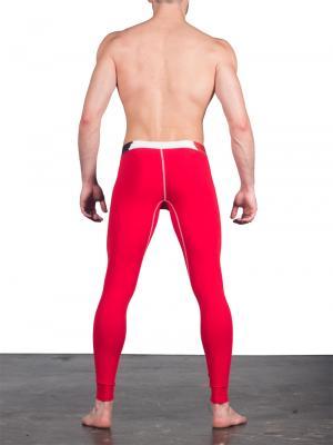 Geronimo Leggings, Item number: 1664j6 Red Leggings, Color: Red, photo 4