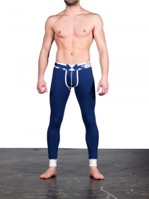 Geronimo Leggings, Item number: 1665j6 Navy Blue Leggings, Color: Blue, photo 2