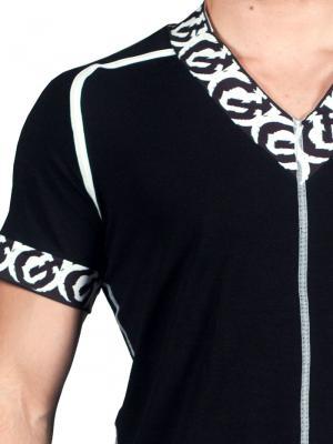 Geronimo T shirt, Item number: 1661t5 Black Tshirt, Color: Black, photo 4