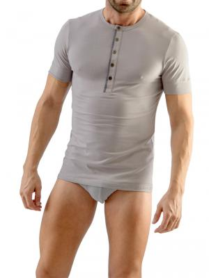 Geronimo T shirt, Item number: 1667t3 Grey Men's t-shirt, Color: Grey, photo 2