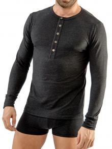 Long sleeve , Geronimo, Item number: 1667t6 Graphite Longsleeve top
