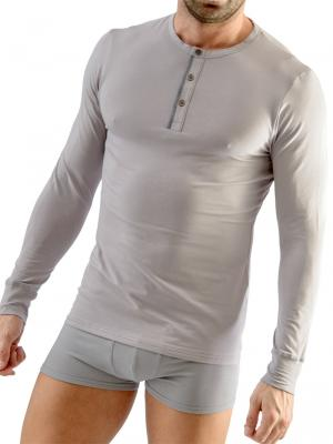 Geronimo Long sleeve , Item number: 1667t6 Grey Long sleeved t-shirt, Color: Grey, photo 1