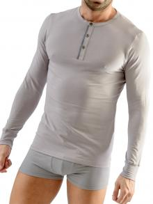 Long sleeve , Geronimo, Item number: 1667t6 Grey Long sleeved t-shirt