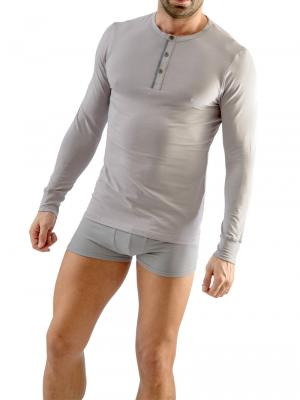 Geronimo Long sleeve , Item number: 1667t6 Grey Long sleeved t-shirt, Color: Grey, photo 2