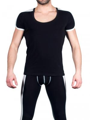 Geronimo T shirt, Item number: 1666t5 Black Mens T-shirt, Color: Black, photo 2