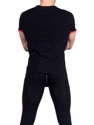 Geronimo T shirt, Item number: 1666t5 Black Red T-shirt, Color: Black, photo 4