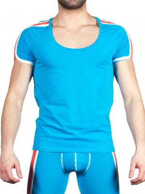 Geronimo T shirt, Item number: 1666t5 Blue Mens T-shirt, Color: Blue, photo 1