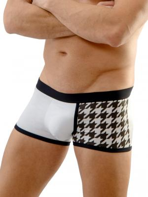 Geronimo Boxers, Item number: 1670b1 Stars Boxer Briefs, Color: White, photo 1