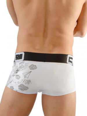 Geronimo Boxers, Item number: 1670b1 Drawings Boxer Briefs, Color: White, photo 4