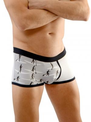 Geronimo Boxers, Item number: 1670b1 Surf Boxer Briefs, Color: Grey, photo 3