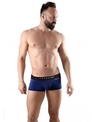 Geronimo Boxers, Item number: 1766b1 Blue Zip Front Boxer, Color: Blue, photo 2
