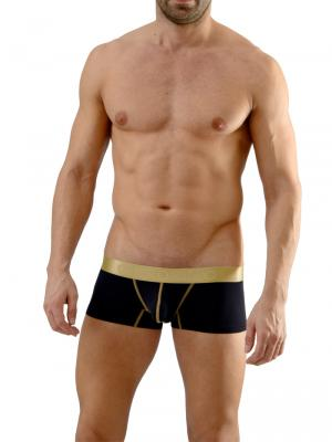 Geronimo Boxers, Item number: 1663b2 Black Boxer Briefs, Color: Black, photo 2