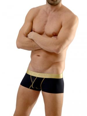 Geronimo Boxers, Item number: 1663b2 Black Boxer Briefs, Color: Black, photo 4
