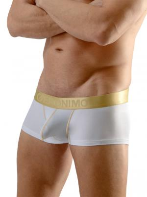 Geronimo Boxers, Item number: 1663b2 White Boxer Briefs, Color: White, photo 1