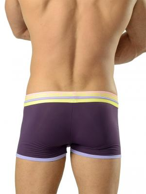 Geronimo Boxers, Item number: 1626b1 Purple Swim Trunks, Color: Purple, photo 4