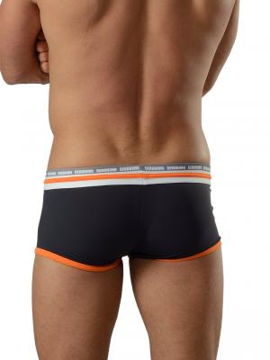 Geronimo Square Shorts, Item number: 1626b2 Black Orange Hipster, Color: Black, photo 4