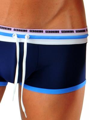 Geronimo Square Shorts, Item number: 1626b2 Dark Blue Hipster, Color: Blue, photo 3