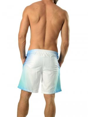 Geronimo Board Shorts, Item number: 1608p4 White Boardshorts, Color: White, photo 4