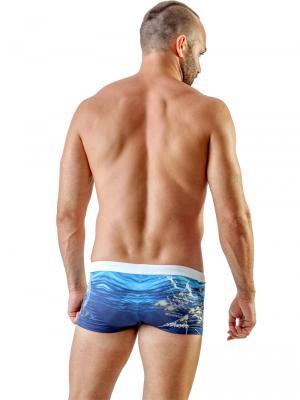 Geronimo Boxers, Item number: 1702b1 Ocean Space Trunks, Color: Multi, photo 5