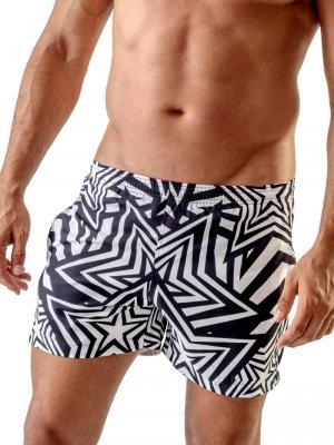 Geronimo Swim Shorts, Item number: 1705p1 Star Swim Short, Color: Black, photo 1