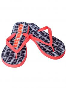 Flip Flops, Geronimo, Item number: 1709f1 Black Red Flip Flop