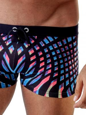Geronimo Boxers, Item number: 1707b1 Blue Swim Trunk, Color: Blue, photo 3