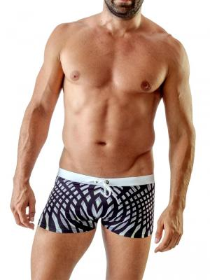Geronimo Boxers, Item number: 1707b1 Black Swim Trunk, Color: Black, photo 2