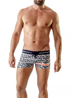 Geronimo Boxers, Item number: 1709b1 Black Swim Trunk, Color: Black, photo 2