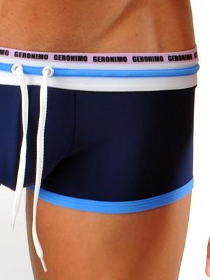Geronimo Square Shorts, Item number: 1323b2 Dark Blue, Color: Blue, photo 3