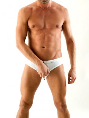 Geronimo Briefs, Item number: 1353s1 White Fetish Brief, Color: White, photo 2