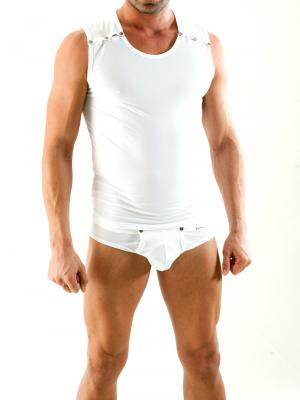 Geronimo Tank top, Item number: 1353t2 White, Color: White, photo 2