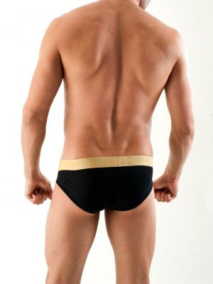 Geronimo Briefs, Item number: 1356s2 Black, Color: Black, photo 5