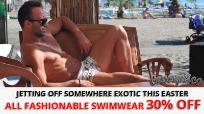 Mens swimwear sale at Concupisco.com