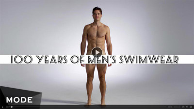 100 years of fashion mens swimwear