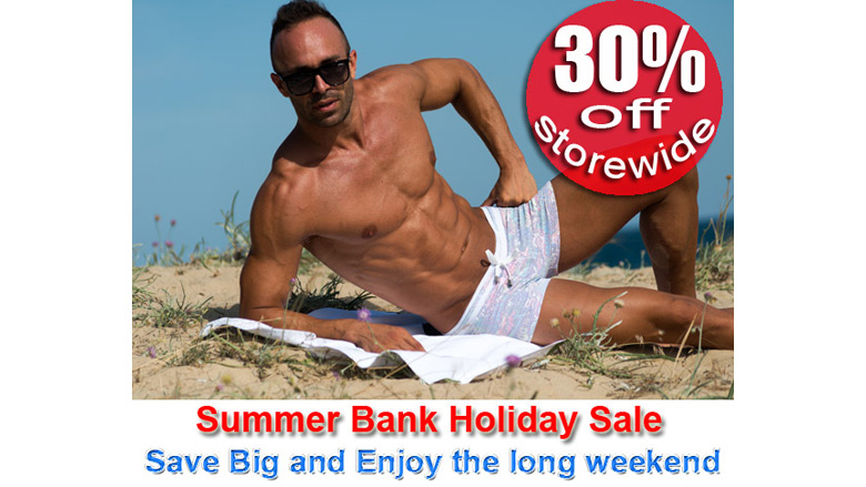 august bank holiday sale at concupisco