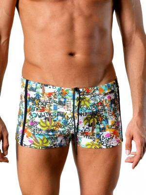 Geronimo Boxers, Item number: 1415b1 White, Color: Multi, photo 1