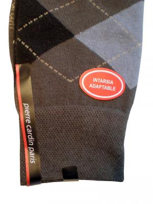 Pierre Cardin Argyle Socks, Item number: PC9-39-42 Grey, Color: Multi, photo 2