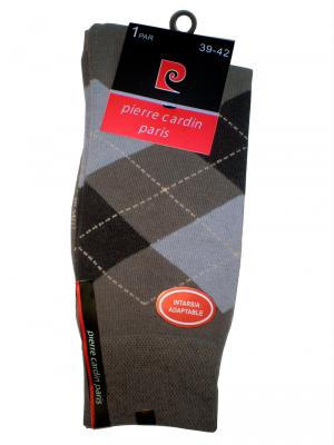 Pierre Cardin Argyle Socks, Item number: PC9-39-42 Grey, Color: Multi, photo 3