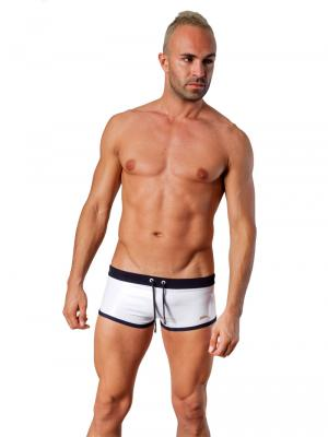 Geronimo Square Shorts, Item number: 1424b2 White, Color: White, photo 2
