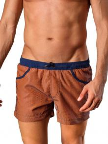 Swim Shorts, Geronimo, Item number: 1410p1 Brown