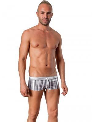 Geronimo Square Shorts, Item number: 1427b2 Grey, Color: Multi, photo 2