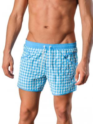Geronimo Swim Shorts, Item number: Silvester Blue, Color: Blue, photo 1