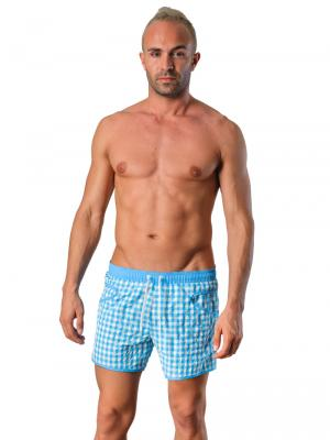 Geronimo Swim Shorts, Item number: Silvester Blue, Color: Blue, photo 2