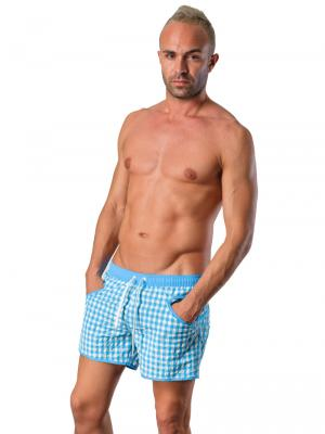 Geronimo Swim Shorts, Item number: Silvester Blue, Color: Blue, photo 5
