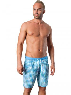 Geronimo Board Shorts, Item number: 1413p4 Light Blue, Color: Blue, photo 2