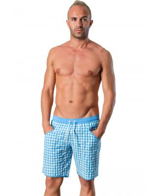 Geronimo Board Shorts, Item number: 1413p4 Light Blue, Color: Blue, photo 3