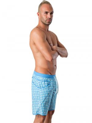 Geronimo Board Shorts, Item number: 1413p4 Light Blue, Color: Blue, photo 4