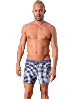 Geronimo Swim Shorts, Item number: Silvester Navy Blue, Color: Blue, photo 2