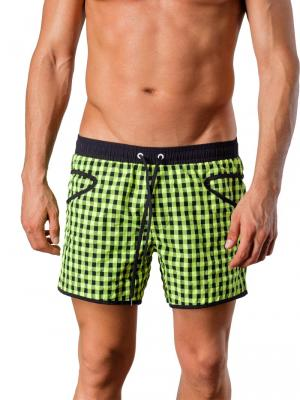 Geronimo Swim Shorts, Item number: Silvester Green, Color: Green, photo 1
