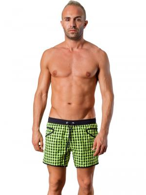 Geronimo Swim Shorts, Item number: Silvester Green, Color: Green, photo 2